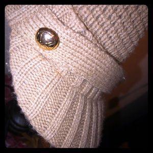 Michael Kors beanie with top hood